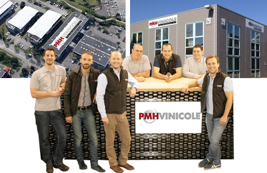 The management team to the headquarter in Bron (Lyon)