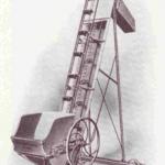 Tapis transporteur de vendange dit élévateur Marmonier