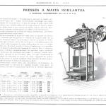 presse à maies roulantes a serrage automatique Marmonier