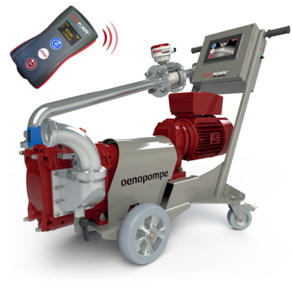 pompe a vin oenopompe telecommande wine pump remote control