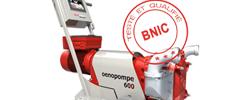wine pump oenopompe qualifiée bnic pompe vin alcool
