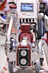 pompe à vin oenopompe design