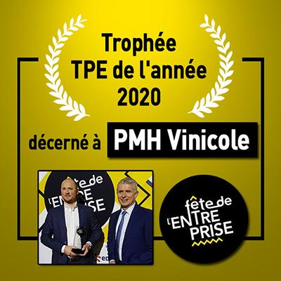 trophée TPE 2020 Fete de entreprise le progres