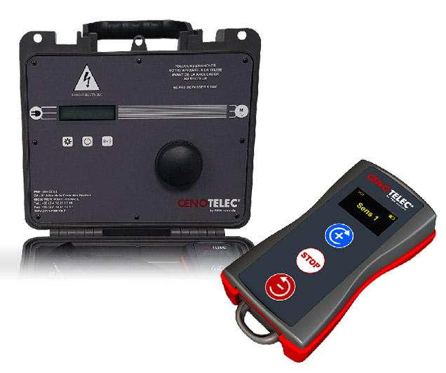Valise télécommande remote oenotelec