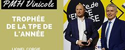 Trophee trophy lionel corgié TPE VSE VSB année year 2020