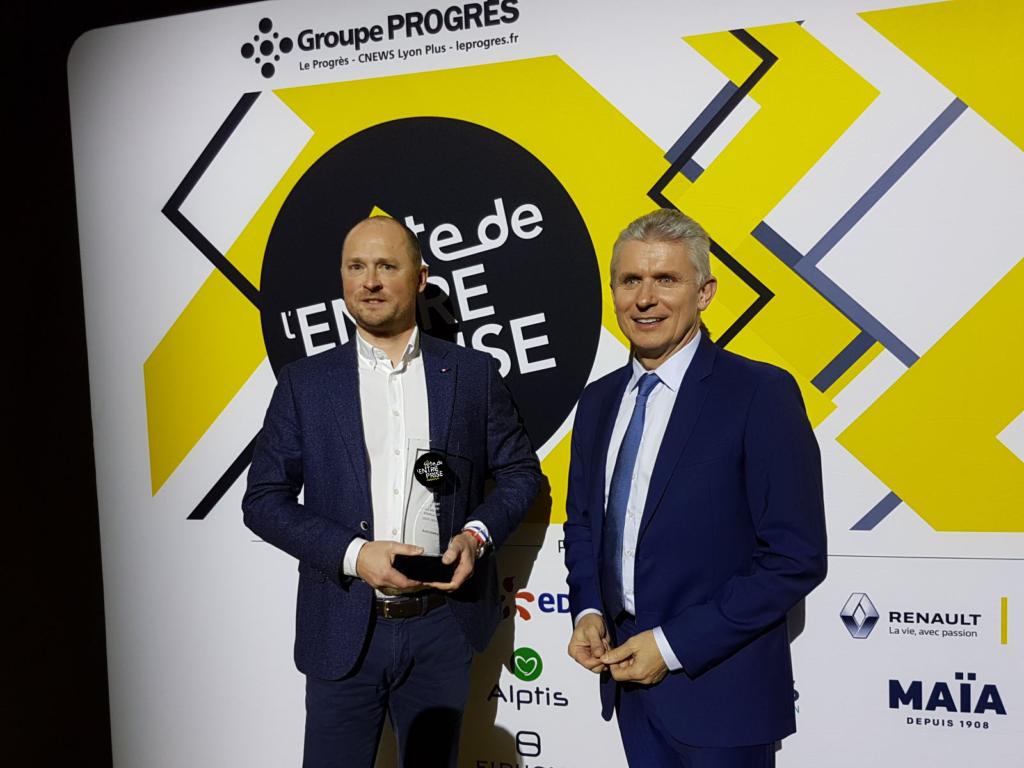 Lionel Corgié récompense award